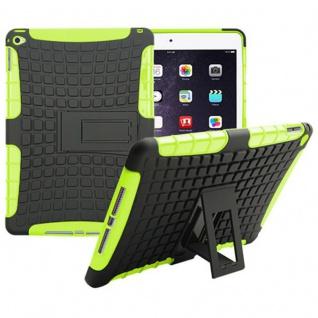 Hybrid Outdoor Schutzhülle Cover Grün für Apple iPad Air 2 Tasche Case Hülle Neu