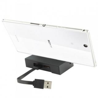 Dockingstation Ladestation für Sony Xperia Z Ultra L39h + USB Ladekabel Neu Top