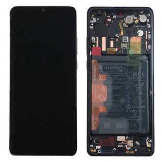 Huawei Display LCD Rahmen für P30 Pro Service 02352PBT Schwarz / Black Batterie - Vorschau 4