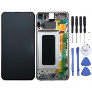 Samsung Display LCD Komplettset GH82-18852B Weiß für Galaxy S10e 5.8 Zoll G970F