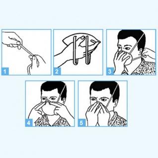3x MEIXIN Hochwertige Medizinische Atem Schutzmaske Atemschutzmaske FFP2 Schutz Maske Zubehör Neu - Vorschau 4