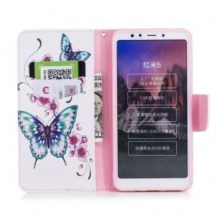 Tasche Wallet Book Cover Motiv 37 für Xiaomi Redmi 5 Hülle Case Etui Schutz Neu - Vorschau 3