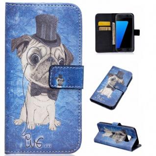 Schutzhülle Muster 85 für Samsung Galaxy S7 G930 G930F Tasche Cover Case Hülle