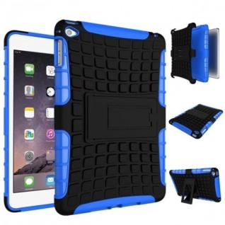 Für Apple iPad Mini 5 7.9 2019 Hybrid Outdoor Tasche Etuis Hülle Cover Blau Case