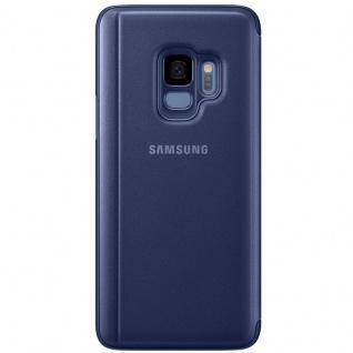 Samsung Flip Tasche Clear View EF-ZG960CLE für Galaxy S9 G960F Hülle Cover Blau - Vorschau 3