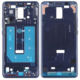 Gehäuse Rahmen Mittelrahmen Deckel für Huawei Mate 10 Pro Blau Reparatur Ersatz