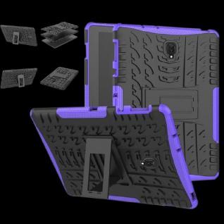 Hybrid Outdoor Schutz Hülle Lila für Samsung Galaxy Tab S4 10.5 T830 Tasche Case