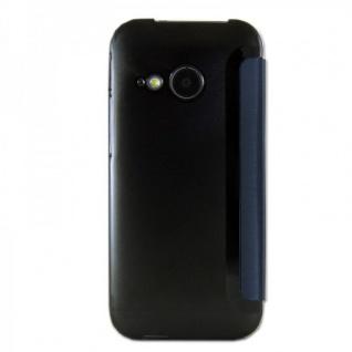 Smartcover Window Dunkelblau für HTC One Mini 2 Tasche Cover Case Hülle Zubehör - Vorschau 2