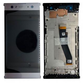 Sony Display LCD Komplett mit Rahmen für Xperia XA2 Ultra Silber Ersatz Neu Top