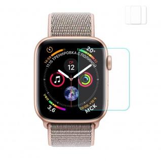 2x 2.15D 0, 2 mm H9 Hart Glas für Apple Watch 4. Gen 40 mm Schutz Zubehör Folie