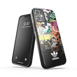 Adidas Snap Case für iPhone 12 Mini Graphics Tasche Schutz Handy Hülle Case Etui