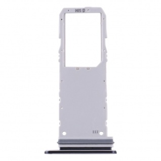 Sim Karten Halter für Samsung Galaxy Note 10 Schwarz Card Tray