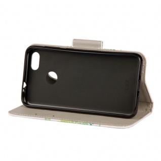 Tasche Wallet Book Cover Motiv 20 für Huawei P Smart Hülle Case Etui Schutz Neu - Vorschau 2