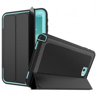 Hybrid Outdoor Schutzhülle Hellblau für Samsung Galaxy Tab A 10.1 T580 Tasche
