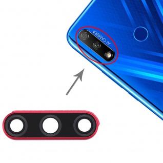 Camera Lens für Huawei Honor 9X Cam Rot Red Linse Ersatzteil Reparatur Zubehör