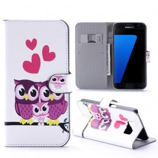 Schutzhülle Muster 32 für Samsung Galaxy S7 Plus Tasche Cover Case Hülle Etui