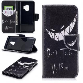 Tasche Wallet Book Cover Motiv 25 für Samsung Galaxy S9 G960F Hülle Case Etui