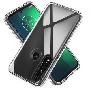 Für Motorola Moto G8 Plus Silikon TPU Schutz Transparent Handy Tasche Hülle Etui