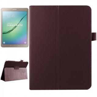 Schutzhülle Braun Tasche für Samsung Galaxy Tab S2 9.7 SM T810 T815N Hülle Case