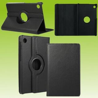 Für Huawei MatePad T10 / T10s Schwarz 360 Grad Etuis Tablet Tasche Kunst-Leder