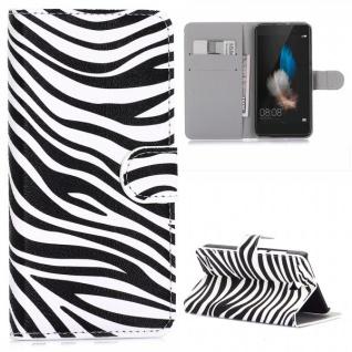 Schutzhülle Muster 7 für Huawei P9 Bookcover Tasche Case Hülle Wallet Etui Neu