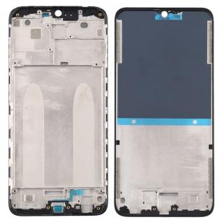 Gehäuse Rahmen Mittelrahmen Deckel für Xiaomi Redmi 8A / Redmi 8 Schwarz Ersatz