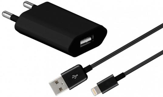 USB Ladegerät 1A Datenkabel Ladekabel Stecker für Apple iPhone 6S 6 5S SE iPod - Vorschau 3