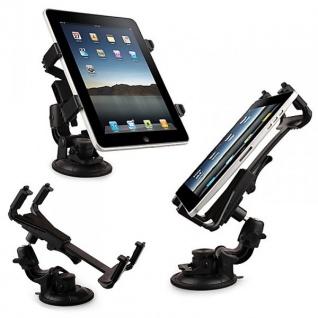 Auto KFZ Halterung für Apple iPad Saugnapf + Ladekabel