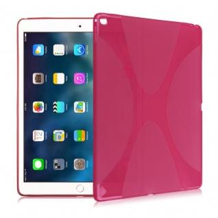 Schutzhülle Silikon X-Line Pink Hülle für Apple iPad Pro 9.7 Zoll Tasche Cover
