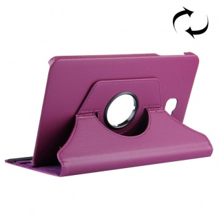 Schutzhülle 360 Grad Lila Tasche für Samsung Galaxy Tab A 10.1 T580 / T585 Case