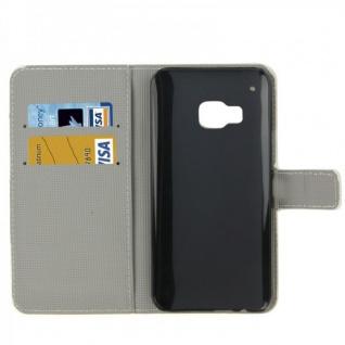 Schutzhülle Muster 74 für HTC One 3 M9 2015 Tasche Cover Case Hülle Etui Schutz - Vorschau 2