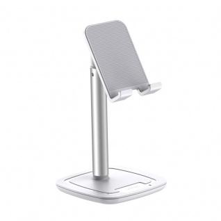 Joyroom JR-ZS203 Universelle Tablet und Smartphone Halterung Ständer Halter Weiß