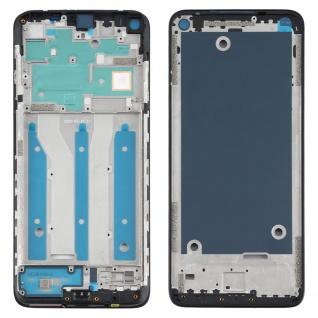 Front Housing LCD Rahmen für Moto G9 Plus Schwarz Bezel Plate Ersatzteil Zubehör