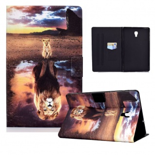 Für Samsung Galaxy Tab A 10.5 T590 2018 Motiv 87 Tablet Tasche Kunst Leder Etuis