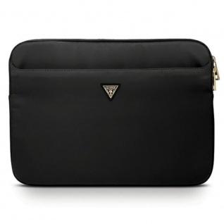 GUESS Tasche für Notebook Laptop & Tablet 13 Zoll Schwarz Etuis Hülle Sleeve NEU