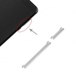 Power Volume Button Silber für Xiaomi Mi 6 Lautstärke On Off Ersatzteil Zubehör
