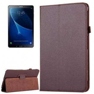 Schutzhülle Braun Tasche für Samsung Galaxy Tab S3 9.7 T820 / T825 Hülle Case
