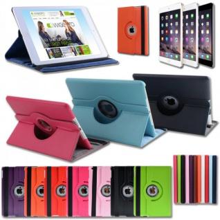 Schutzhülle Kunstleder 360 Grad Tasche für verschiedene Apple iPad Hülle Case