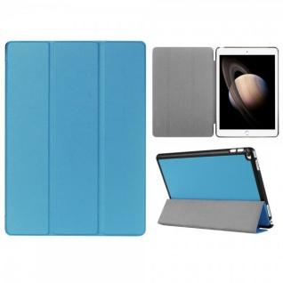 Smartcover Hellblau Tasche Wake UP Hülle Case für Apple iPad Pro 12.9 Zoll 3 Gen