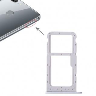 Für Huawei Honor 9 Lite Karten Halter Sim Tray Schlitten Holder Weiß Ersatz Neu