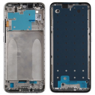 Gehäuse Rahmen Mittelrahmen Deckel für Xiaomi Redmi Note 8 Silber Ersatzteil