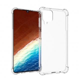 Für Samsung Galaxy A12 5G Handy Tasche Transparent Schock Hülle Etuis Cover Neu