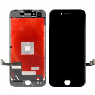 Display LCD Komplett Einheit Touch Panel für Apple iPhone 8 4.7 Schwarz Reparatur