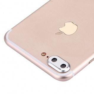 Kameraschutz für Apple iPhone 7 Plus Kamera Schutz Kameraring Protector Silber
