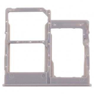 Sim Karten Halter für Samsung Galaxy A40 5.9 Zoll Grau Card Tray Ersatzteil
