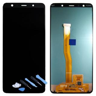 Samsung Display LCD Kompletteinheit für Galaxy A7 A750F GH96-12078A Schwarz 2018