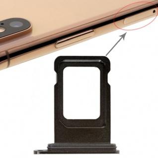 Für Apple iPhone XS 5.8 Zoll Sim Karten Halter Tray Schwarz SD Card Ersatzteil