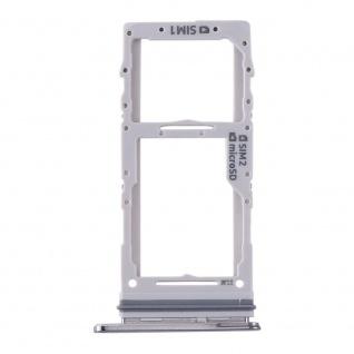Dual Sim / Micro SD Karten Halter für Samsung Galaxy S20 Plus/S20 Ultra Grau