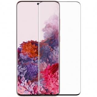 Für Samsung Galaxy S20 Ultra G988F 2x Display H9 Hart Glas Schwarz Folie Panzer