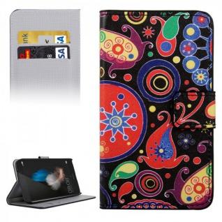 Schutzhülle Muster 8 für Huawei G8 5.5 Zoll Bookcover Tasche Case Hülle Wallet